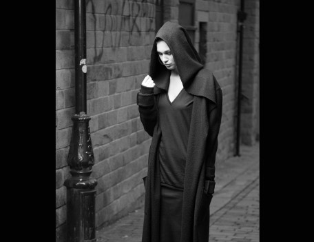 model in long coat - Fashion Location