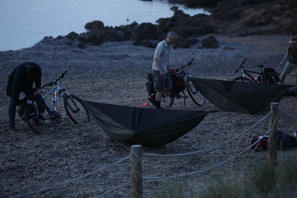 hammocks and bicycles
