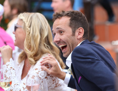 Man laughing - Favourite Wedding Faces