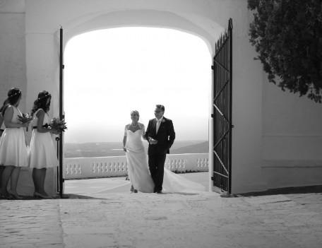bridal entrance - El Toro & Binissaida