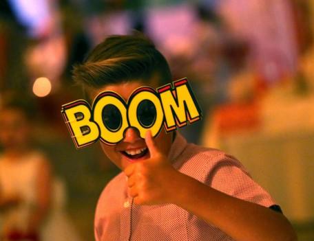 Boy with boom mask - Elixir Shore Club