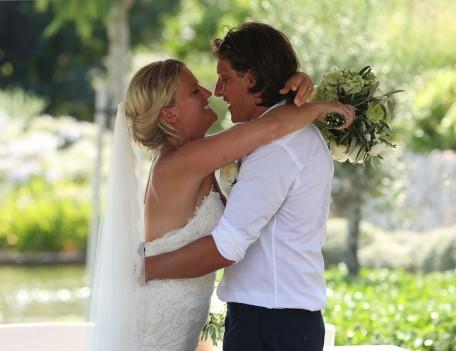 wedding couple - Castell Son Claret
