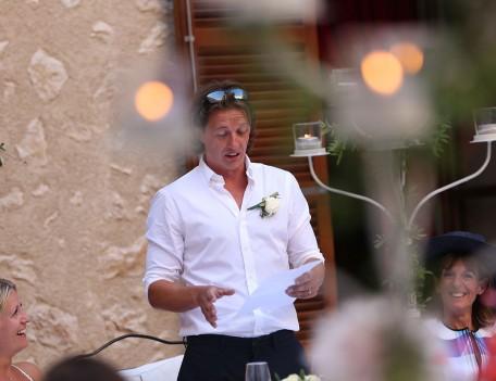 wedding speech - Castell Son Claret