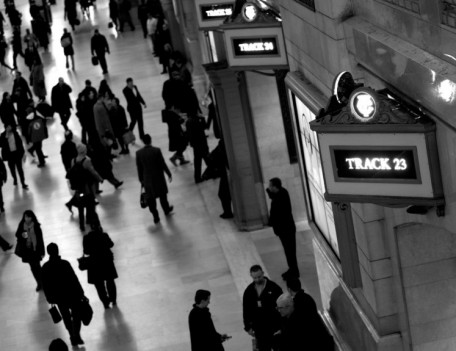 train station concourse - City People