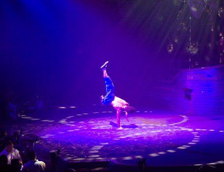 Acrobatic dancer - Pirates Reloaded