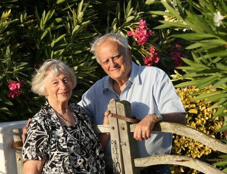 Old couple by gate - Casa Merdeka Menorca