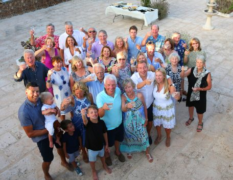 70th birthday in Es Grau, Menorca - Casa Merdeka Menorca