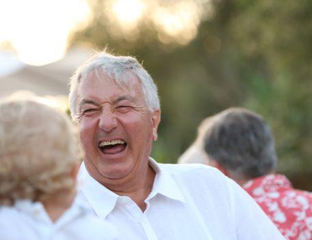 Laughing man - Casa Merdeka Menorca