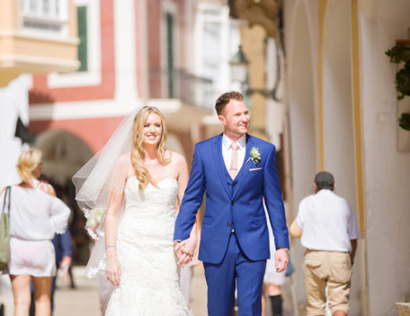 Bride and groom - Santa Maria Ciudadella