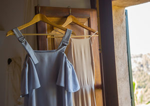 hung dresses