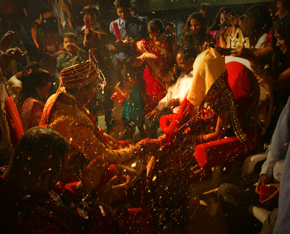 Indian Hindu wedding ceremony