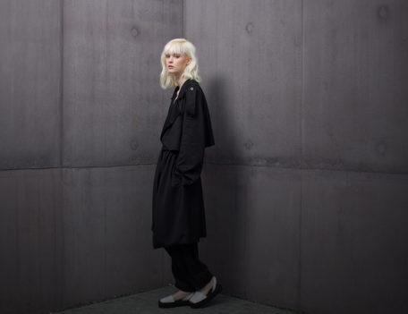 Fashion model - Nomad at the Hepworth