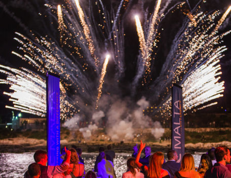 firework display - ITC Malta