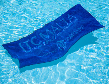 towel in pool - ITC Malta