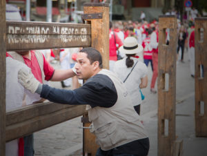 carpenters at San Fermin