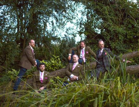 five menin garden - English Wedding