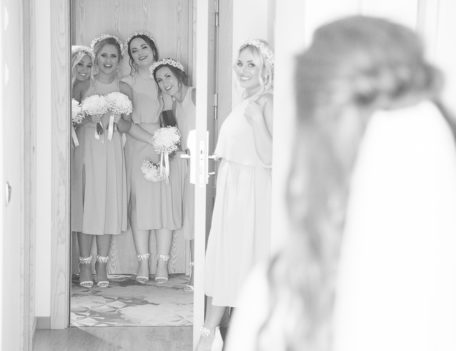 Bride with bridesmaids - Elixir Shore Club