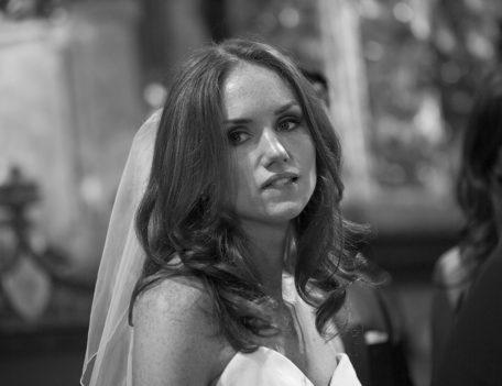bride in church - Hotel Cap Rocat