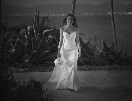bride portrait - Hotel Cap Rocat