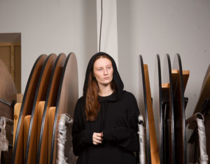 model in store room