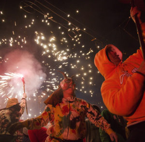 demons at the fiesta of San Antonio
