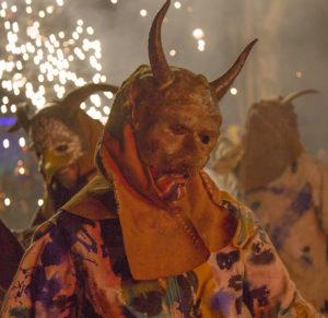 San Antoni fiesta in sa Pobla Majorca