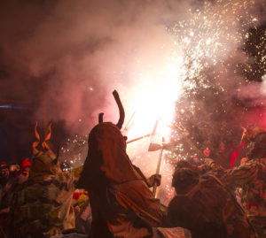 a demon at the fiesta of Sant Antoni