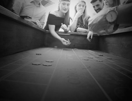 Craps table - The Manhattan Club