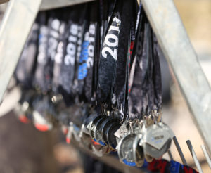medals at Spartan race