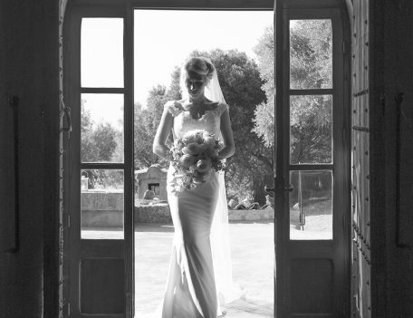 bride entering room - The Bride at Son Marroig