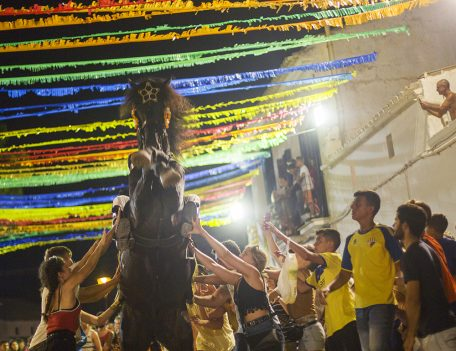 fiesta horse Menorca - Llucmacanes Fiesta