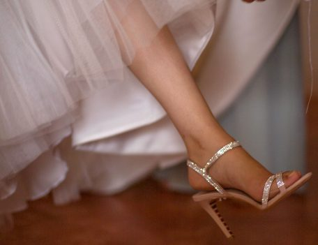 wedding shoe - Binissaida Bride