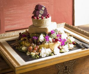 cheeses at wedding