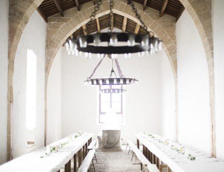 dining room - Refugi de la Puig de Santa Maria