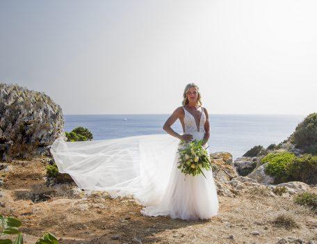 bride at Binisegarra - Villa Binisegarra